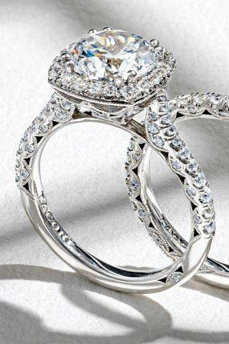 tacori engagement rings white gold engagement rings diamond engagement rings unique engagement rings tacoriofficial