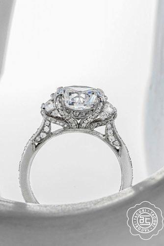 tacori engagement rings white gold engagement rings halo engagement rings unique engagement rings tacoriofficial