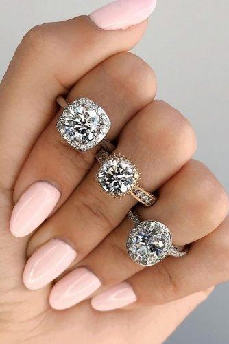 tacori engagement rings round cut engagement rings diamond engagement rings halo engagement rings tacoriofficial