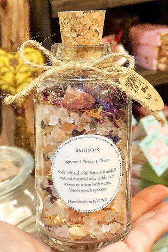 bachelorette party gifts bath spa jar