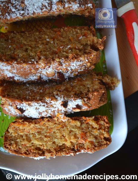 EASY & Moist Carrot Coconut Bread