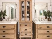 Distressing Techniques: Distress Bathroom Cabinets Vanities
