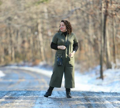 Winterizing a Summer Jumpsuit