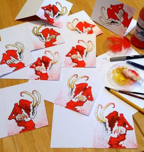 Krampus Christmas Cards