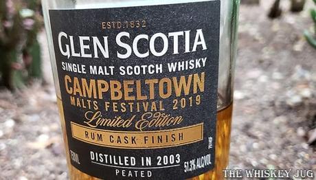 Glen Scotia Rum Cask Finish - Campbeltown Festival 2019 Details
