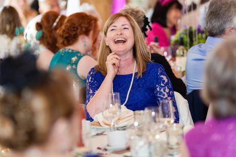 Guest has big laugh during wedding speeches
