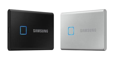 Samsung SSD T7 Touch comes with a fingerprint scanner