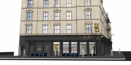 Harry Potter New York Flagship - Concept
