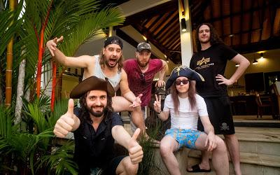 Metal Marauders ALESTORM Announce Official New Album Title, Curse of the Crystal Coconut, and Recording Details