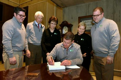 Mayor Walsh, FOPG Sign Historic MOA   January 11, 2020