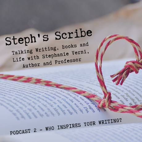 Podcast 2 – Who Inspires Your Writing?