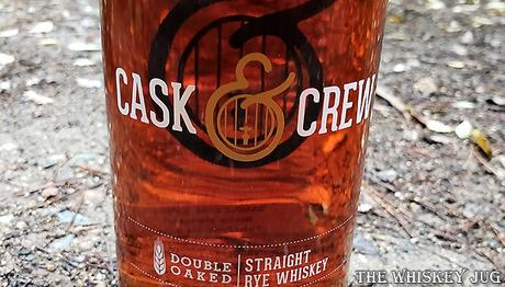 Cask and Crew Double Oaked Rye Label