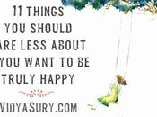 Things Should Care Less About Truly Happy