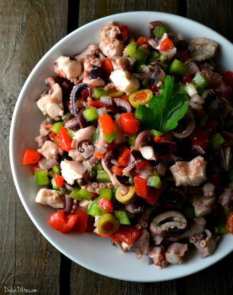 Ensalada de Pulpo (Octopus Salad)