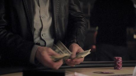 Wild Card: Jason Statham's Black Leather Jacket