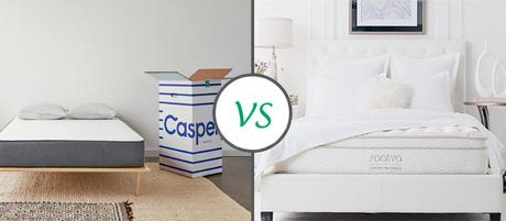 Saatva Vs. Casper Mattress: Which one is Right for you?