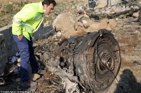 Iranian missile operator shoots Ukrainian passenger jet killing 176