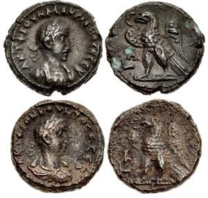 Numismatic fun: A Quietus Tetradrachm