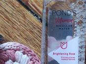 Pond's Vitamin Micellar Water Brightening Rose Review