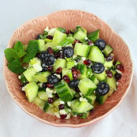 5-Ingredient Blueberry Bundt Cake #BundtBakers