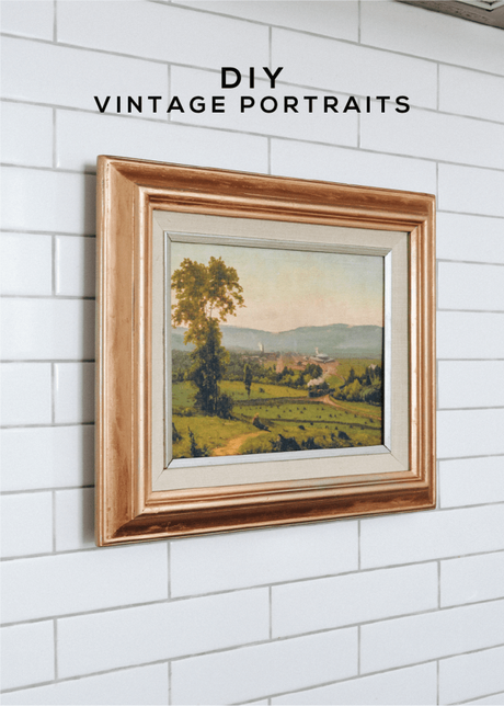 DIY Vintage Paintings (That Are Truly Convincing!)