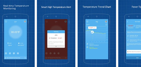 Thermometer Apps android/iPhone