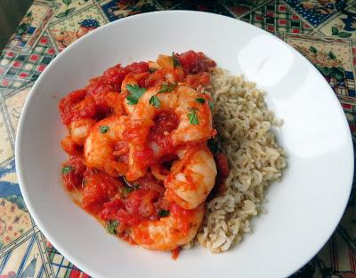 Smoky Tomato & Garlic Prawns
