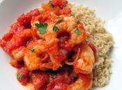 Smoky Tomato Garlic Prawns