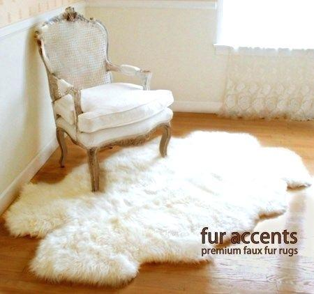 faux shearling rug sheepskin ikea thick white fur new rooms in
