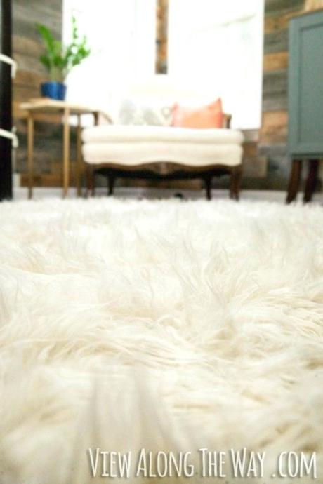 faux shearling rug fur ross how to make a view along the way