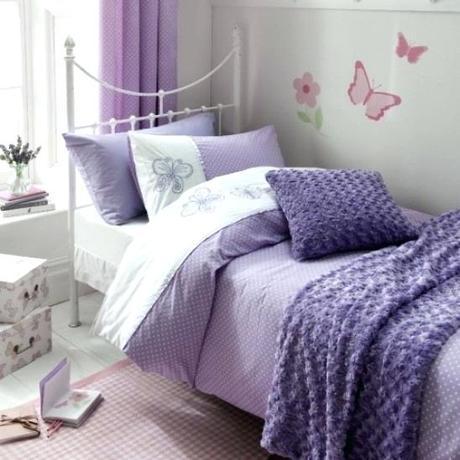 purple lilac bedding quilt covers duvet cover set