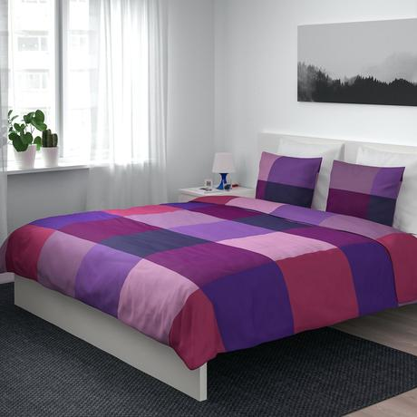 purple lilac bedding quilt covers duvet cover and pillowcases