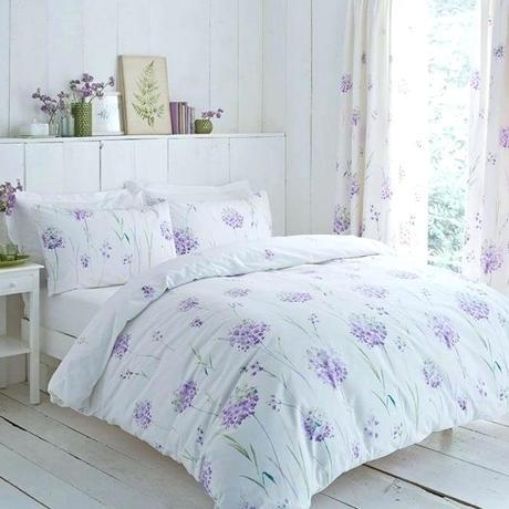 purple lilac bedding duvet sets floral cover set thread count