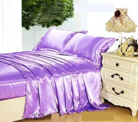purple lilac bedding quilt covers us light mauve silk set king size queen duvet cover bed in a bag sheet bedspread bedroom linen