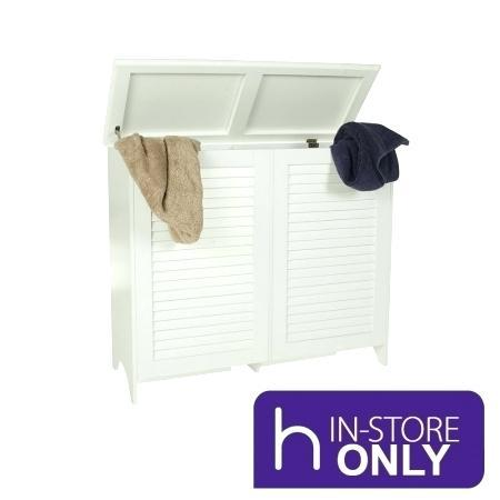 wooden clothes hampers with lids storage world white laundry hamper double