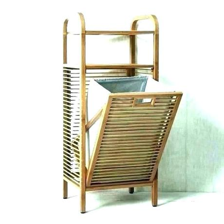 wooden clothes hampers wood hamper with lid white