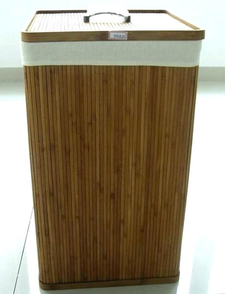 wooden clothes hampers wood hamper with lid laundry