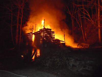 Barn Fire Update--Moving Ahead