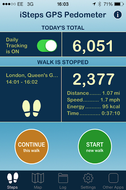 Pavement Testing Fitness Apps No.4: iSteps