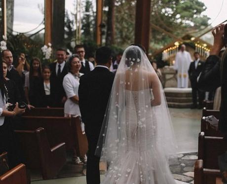 small wedding party wedding ceremony