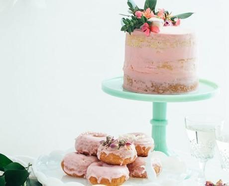 small wedding party dessert bar