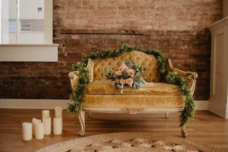 small wedding party wedding decoration