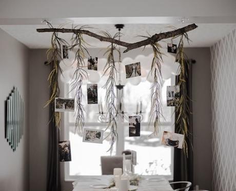 small wedding party creative decor