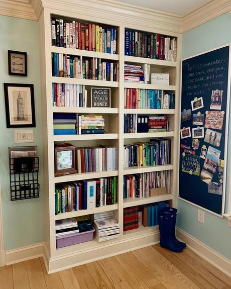 Books. Book Talks. Bookshelves.