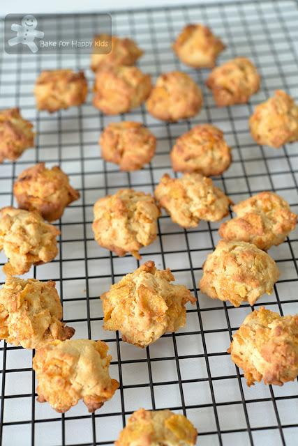 mini golden crunchy milky Honey Cornflakes Cookies
