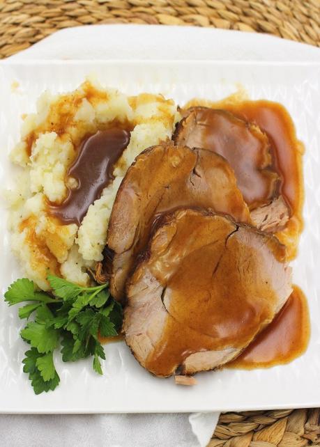 Homestyle Pork Roast (Slow Cooker)