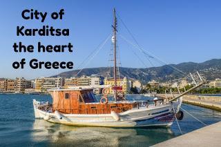 City of Karditsa the heart of Greece