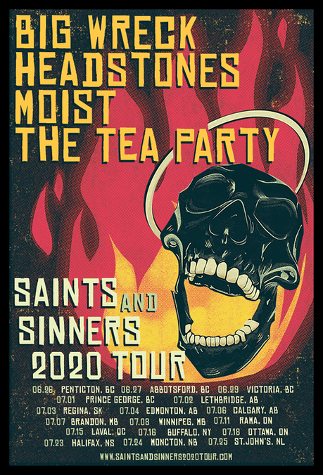 Saints And Sinners Tour Set to Rock Canada in 2020!
