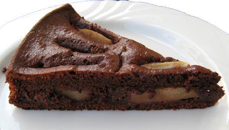 Innamorata..with a..Chocolate Pear Torte