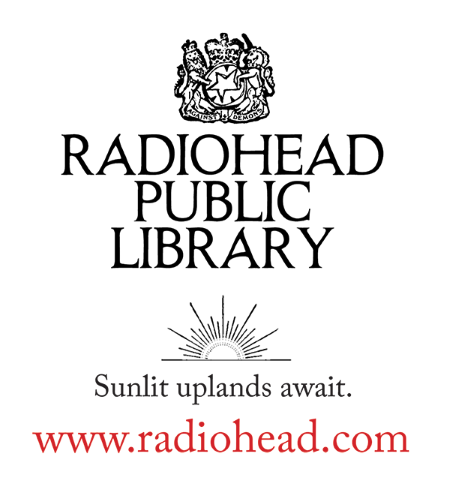 Radiohead opens a public library